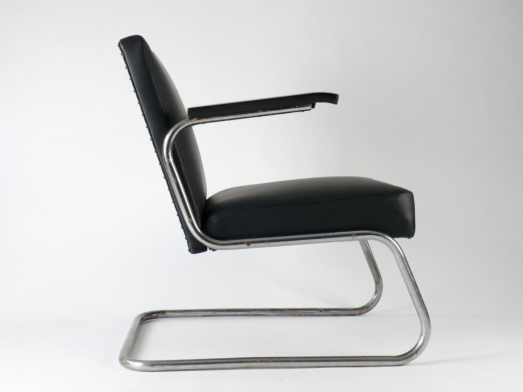 drabert art deco bauhaus stahlrohr freischwinger sessel stuhl chair ebay. Black Bedroom Furniture Sets. Home Design Ideas