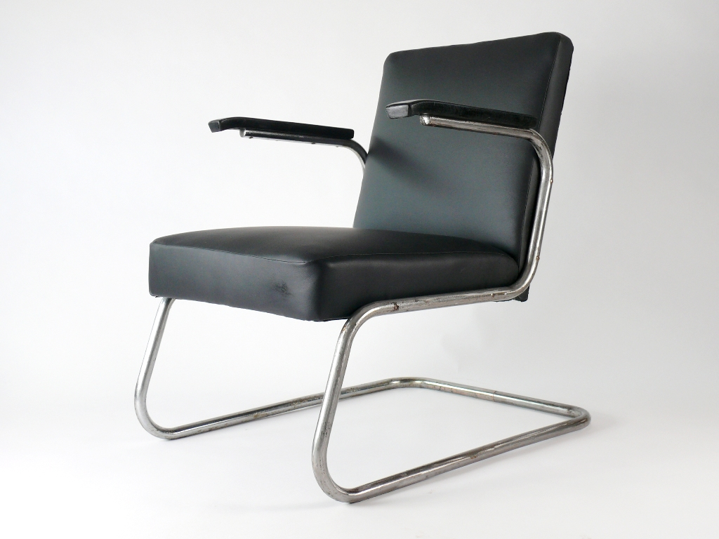 drabert art deco bauhaus stahlrohr freischwinger sessel stuhl chair ebay. Black Bedroom Furniture Sets. Home Design Ideas