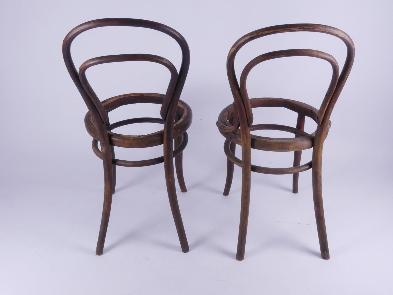 zum restaurieren set 2 bugholz stuhl st hle chairs chaise ebay. Black Bedroom Furniture Sets. Home Design Ideas